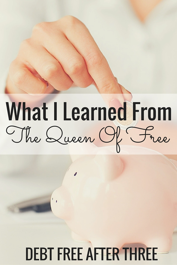 On my recent chat with the Queen of Free, I learned some valuable lessons.