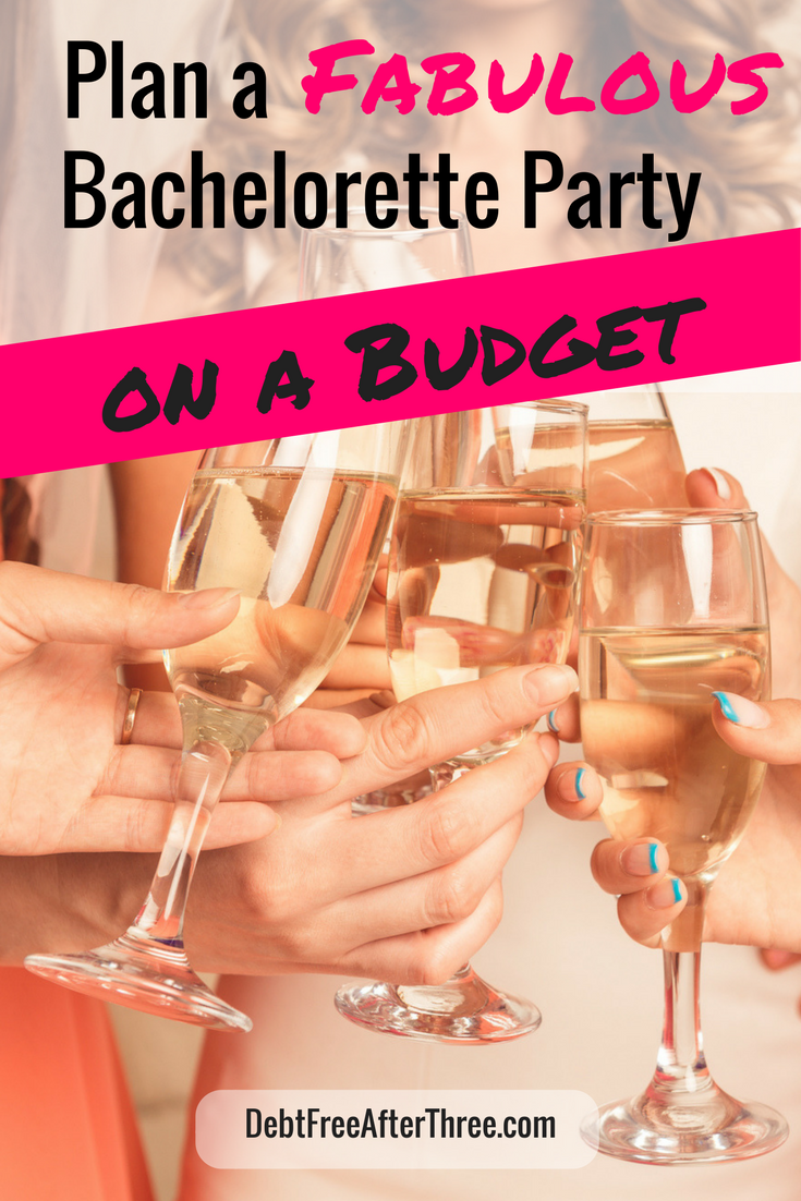Planning a bachelorette party, but don't want to go broke? Here's how I planned a FABULOUS party - on a budget!