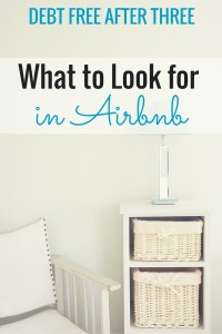 What to look for in Airbnb