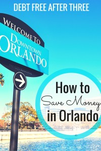 How to save money in Orlando