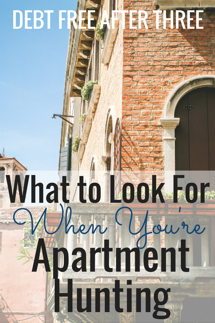 What to Look For When You're Apartment Hunting