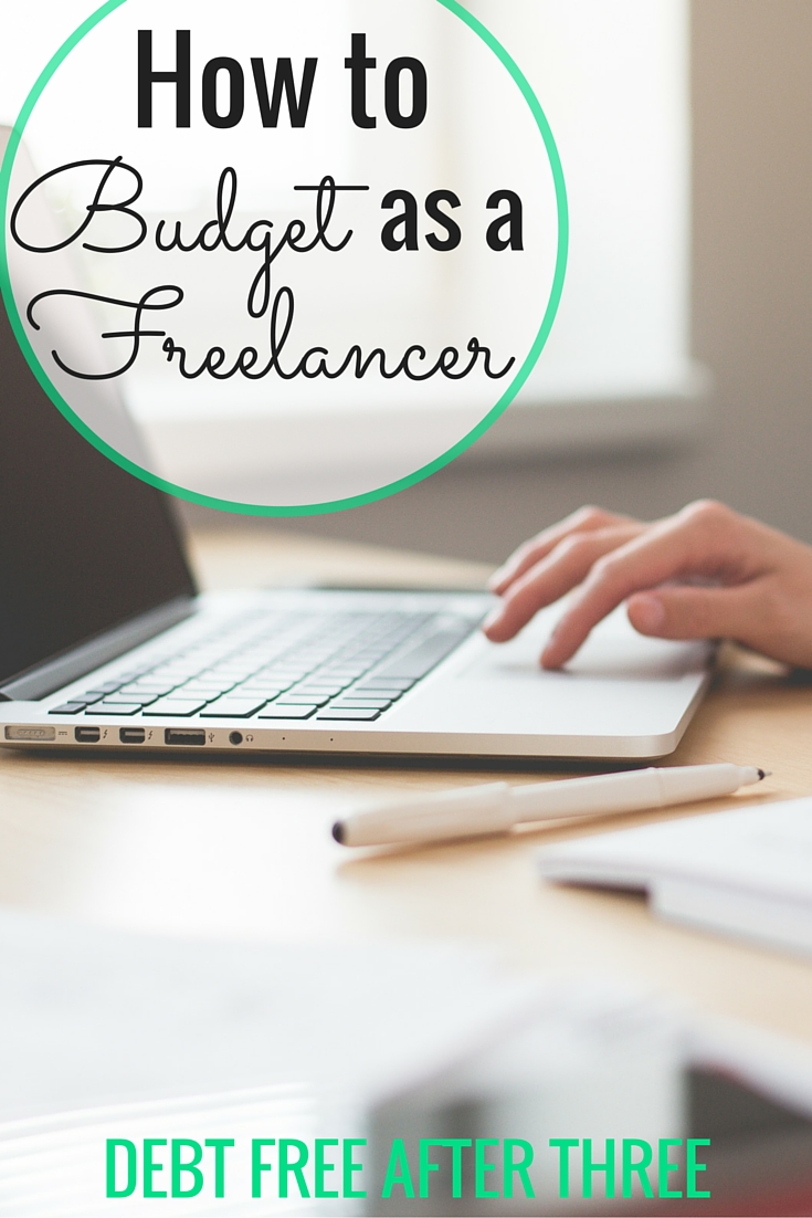 Having an irregular income as a freelancer can be tough, but it doesn't mean you should give up budgeting! How to budget as a freelancer and plan for irregular income.