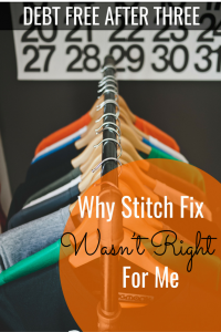 Why I Didn't Like Stitch Fix
