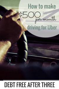 How to Make $500 a Month Driving for Uber
