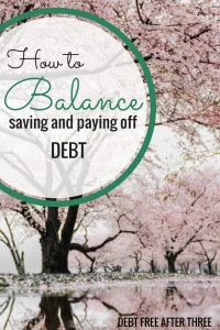 How You Can Balance Saving with Paying Off Debt