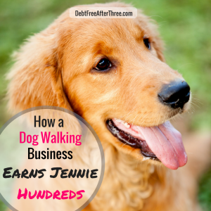 How a Dog Walking and Pet Sitting Business Earns Jennie Hundreds